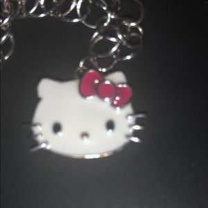 San Rio Hello Kitty silver bracelet